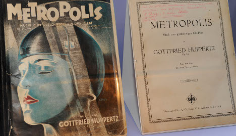 Exhibition gives first peek at restored masterpiece 'Metropolis'