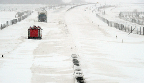 Germany grinds to a halt under thick blanket of snow