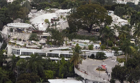Woman pulled from Haitian hotel alive thanks to text message