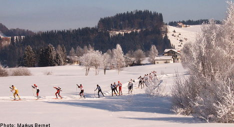 A layman's look at cross-country skiing