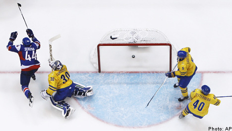 Swedes knocked out of Olympic hockey