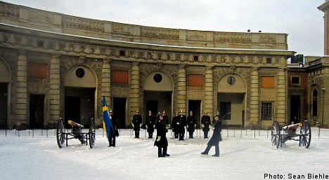 Grenades found at Royal Palace in Stockholm