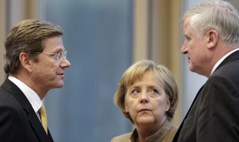 Westerwelle inflating the obvious on welfare, says Merkel