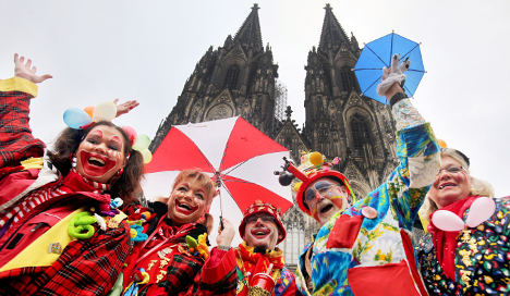 Rhineland jesters try to get Munich to lighten up for Karneval