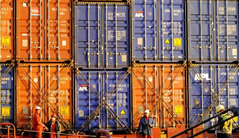 China claims Germany's export crown