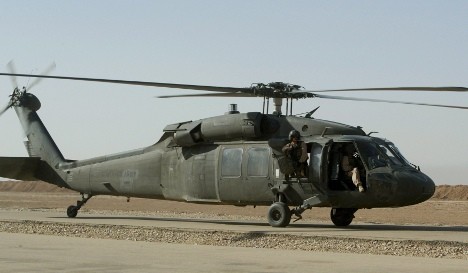 Three dead in US military helicopter crash