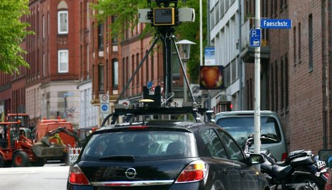Google 'Street View' car sabotaged in suspected privacy protest