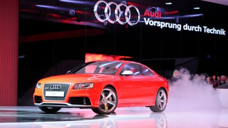 Audi posts strong Feb sales and sees solid Q1