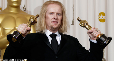 Swede claims two Oscars