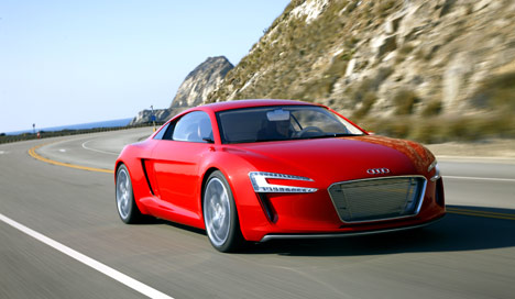 Flashy Audi roars past other VW brands