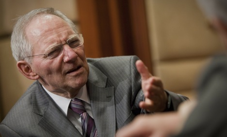 Schäuble to ban naked short selling