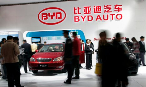Daimler teams up with Chinese carmaker BYD for electric auto