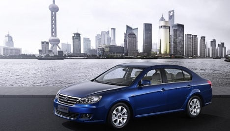 VW to jump-start Chinese electric car market