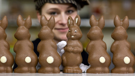 Germans opt for smaller chocolate eggs and bunnies this Easter