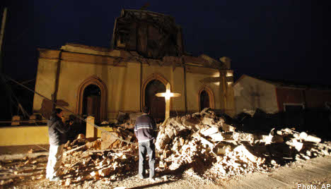 Swedes missing after Chile earthquake