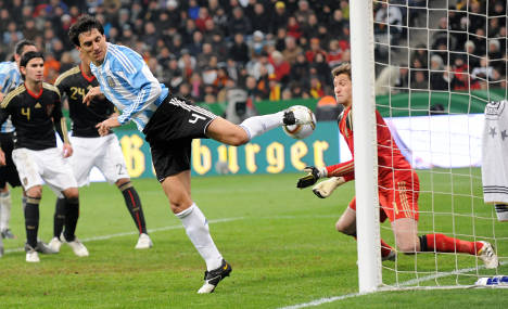 Argentina beats frustrated Germany 1-0