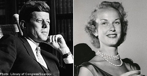 JFK letters to Swedish sweetheart sold