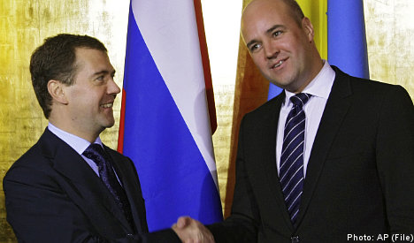 Sweden sets sights on easing Russian relations