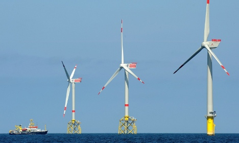 Germany's first offshore wind farm joins power grid