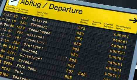 Air travel ban extended into Sunday evening