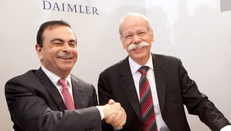 Daimler launches alliance with Renault and Nissan