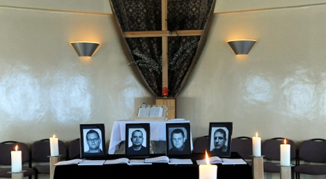 Bodies of Bundeswehr soldiers brought home