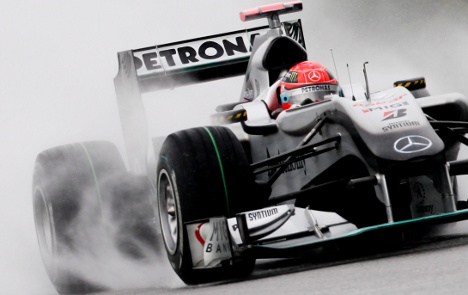 Schumi forced out of Malaysian GP
