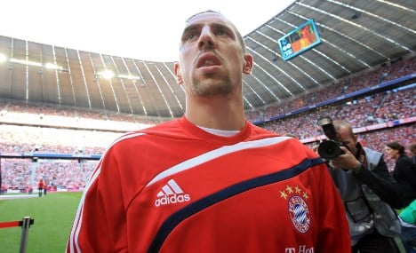 Bayern Munich's Ribery faces probe over prostitution scandal
