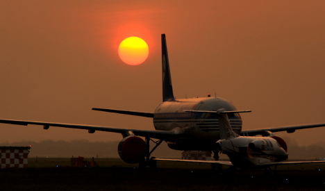 German airlines resume limited flight schedules