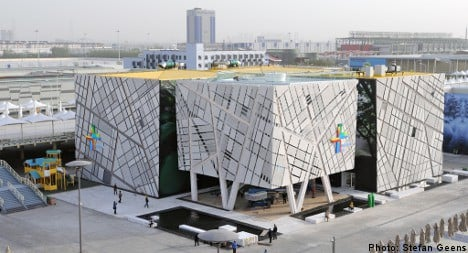 Swedish pavilion at Expo aims to strengthen country's brand