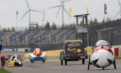 Going the distance: students race towards fuel-efficient cars