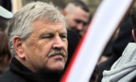 Far-right leader sues over hotel ban