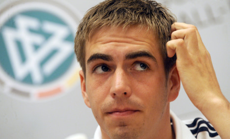 Lahm admits pressure high for Germany after Ballack injury