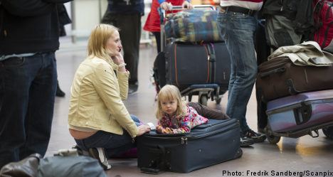 Airports suffer drop after volcano ash
