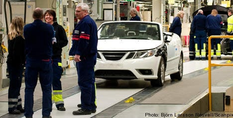 Saab to rehire laid-off workers