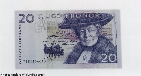 'Selman' 20 kronor note given late reprieve