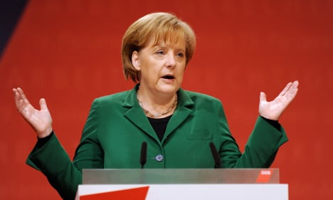 Merkel: Rescue package is a temporary fix