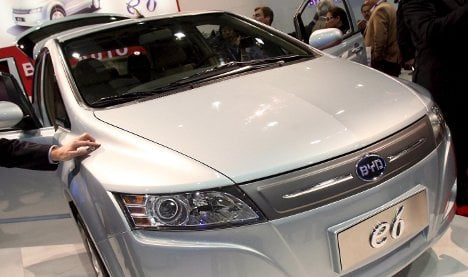 Daimler announces electric car joint venture with China's BYD