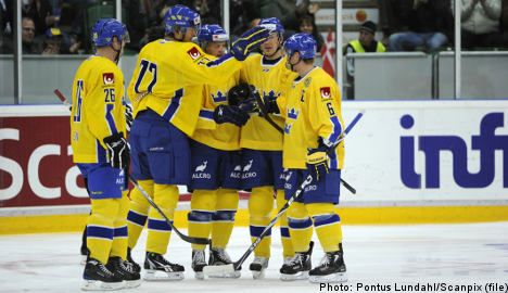 Swedes in semis at hockey worlds