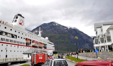'Traumschiff' cruise ship evacuated after fire