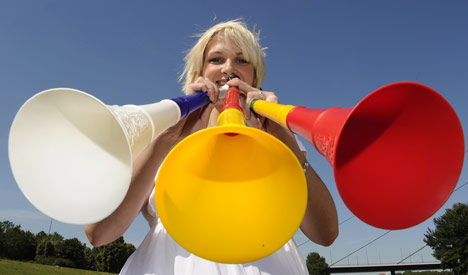 Vuvuzela resellers eye World Cup gold in Europe