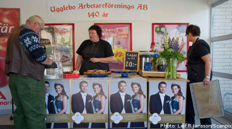 Sweden pulls out the stops for royal wedding