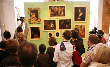 Art missing since 1945 returns to Prussian palace