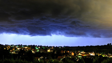Severe storms to subside for pleasant weekend