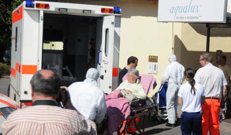 Investigation starts as 30 wellness hotel guests hospitalised