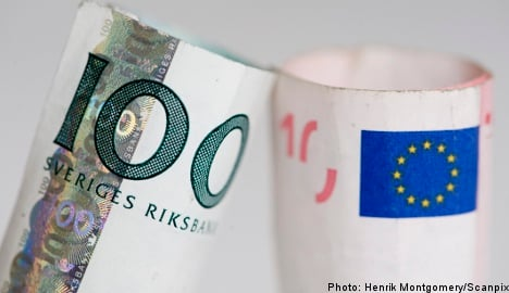 Opposition mounts to euro adoption in Sweden