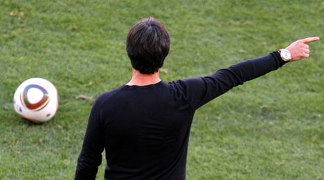 Löw says Germany not in 'headless-chicken mode' after loss
