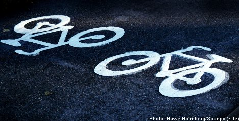 Rear-ended cyclist charged for veering off path