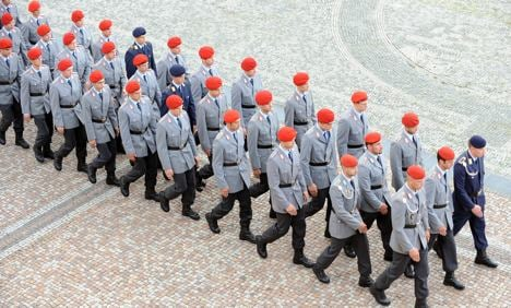 Germans undecided about military service