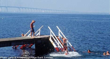 Swedish waters cleaner than normal